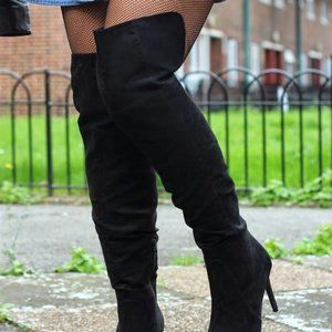 Suede H&M Boots 🦋